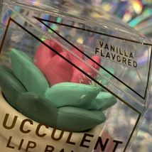 New In Box Taste Labs Vanilla Flavored WHAT UP SUCCA Succulent Lip Balm W Aloe image 4