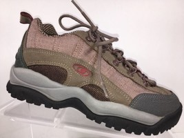 Salomon Womens Shoes 5.5 Contagrip Beige/Gray/Champaign Hiking Trail Wal... - $36.00