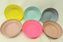 Vintage Tupperware Cereal Bowl Set Lot of 5 #155 Green Pink Blue Gray - $24.74
