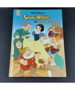 Snow White and The Seven Dwarfs Disney Large Hardcover Mouse Works 8.5 x... - $19.49