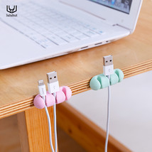 luluhut 3pcs/set colorful cable wire organizer cord management tidy USB ... - $15.35 CAD