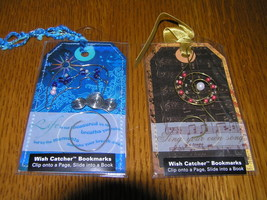 Estate Lot of 2 Wish Catcher Beaded Treble Clef & Diving Dolphin Bookmar... - $8.59