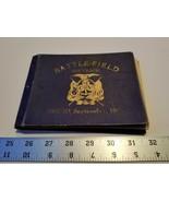 Battlefield Souvenir 14 CV Photos 1891 Battle Field Booklet Education Tr... - $95.00