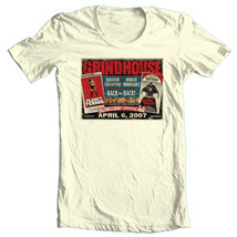 Grindhouse Horror T-shirt Death Proof 100% cotton retro 1990's movie tee image 2