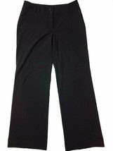 Michael Michael Kors 4 Dress Pants Millbrook Fit Black Wide Leg Women's ... - $12.00