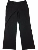 Michael Michael Kors 4 Dress Pants Millbrook Fit Black Wide Leg Women's ... - $12.00