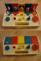 Infant/Baby Playskool Poppin' Pals Vintage Disney Toy 1980 - $15.88