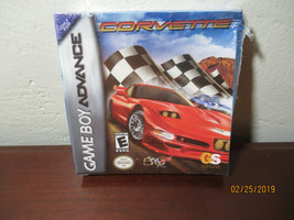 Corvette (Nintendo Game Boy Advance, 2003) NEW SEALED - $9.90