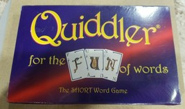 QUIDDLER CARD GAME For The Fun Of Words THE SHORT WORD GAME BRAND NEW! S... - $8.99