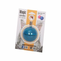 PetPals Group Blue Interactive LED Cat Ball, X-Small - £10.49 GBP