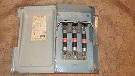 Siemens I-T-E F353 Enclosed Heavy Duty Switch, 100 Amp 600 Vac - $79.15