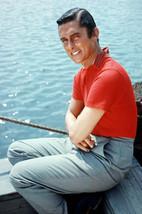 Robert Evans on Dock Rare Portrait Vintage Circa 1960 24x18 Poster - $23.99