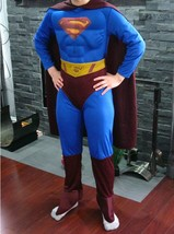 Rubies Dc Comics Superman Returns L 10-12 Halloween Outfit Cosplay Costume - $24.99