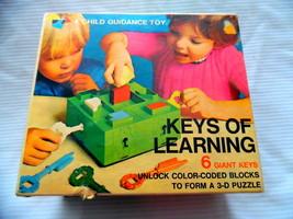 Vintage KEYS OF LEARNING Game 1980's COMPLETE - $50.85