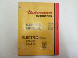 1975 johnson outbords electric models e2t e4t e2b e4b service manual jm - $24.72