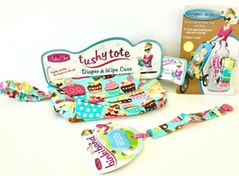Sister Chic set- Binki Band, Dropper Stopper, and Tushy Tote- Sweet Treats - $19.79