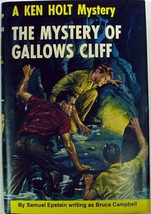 Ken Holt Mystery of Gallows Cliff no.15 Special Collectors Edition hcdj - $75.00