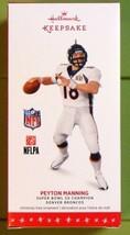 Peyton Manning NFL Denver Broncos 2016 Hallmark Ornament Super Bowl 50 C... - $16.90