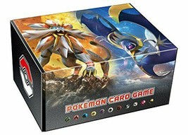 Pokemon Card Game Card Box With Energy Card Solgaleo Lunala - $147.92