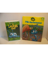 Disney A bugs Life VHs and Flik the inventor book - $5.32