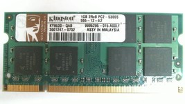 KINGSTON KY9530-QAB 1GB NOTEBOOK SODIMM DDR2 PC5300(667) - $7.70