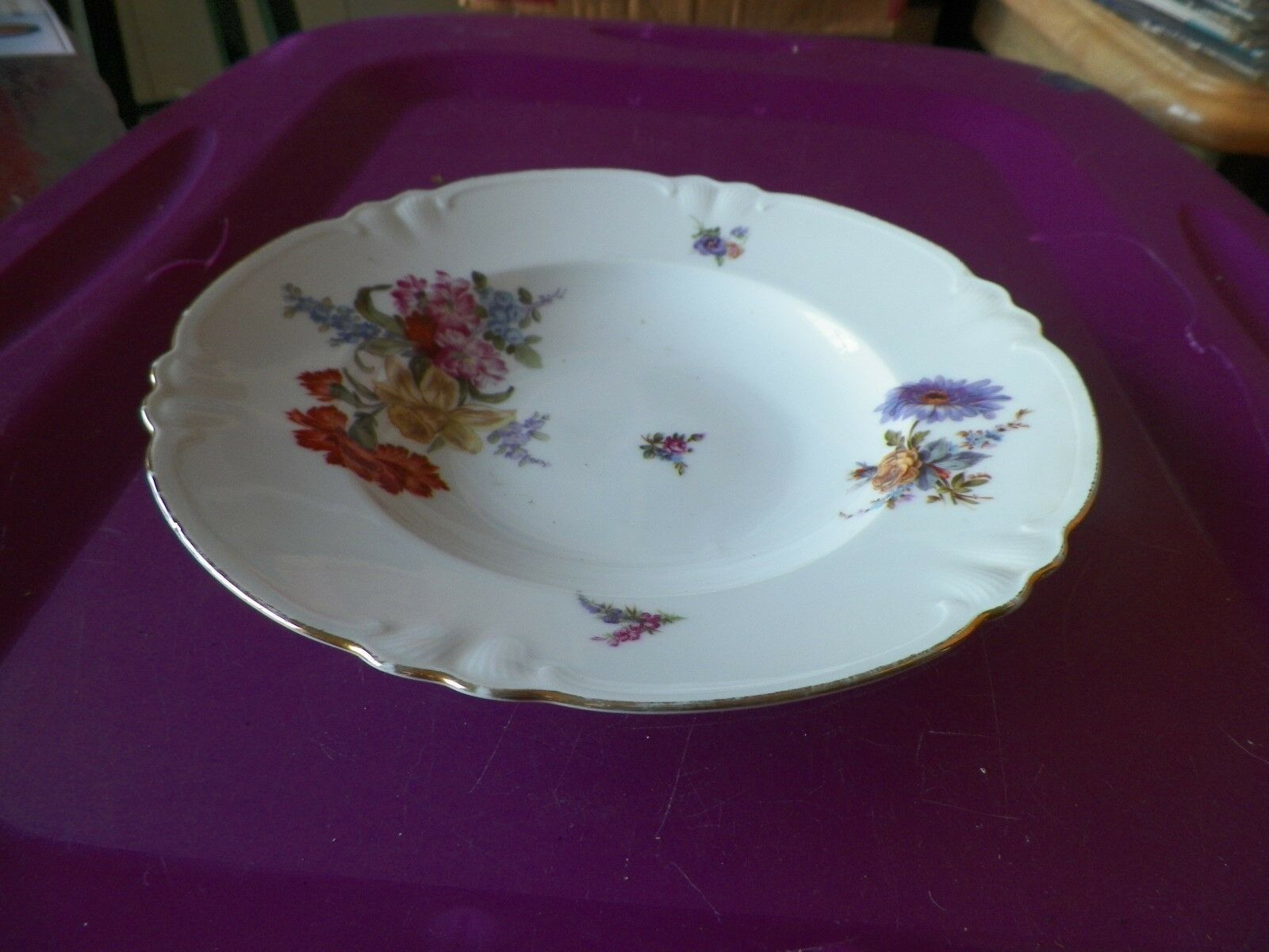 Hutschenreuther 8 5/8 soup bowl 2 available Quantity Discounts available - $4.90