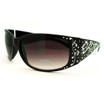 Womens Fashion Sunglasses Thick Rectangular Wrap Frame - $9.95