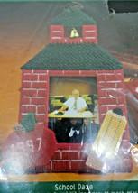 Bucilla Fun Frames School Daze Jackie Wynia 3D Plastic Needlepoint Kit 5x6.5 - $18.14
