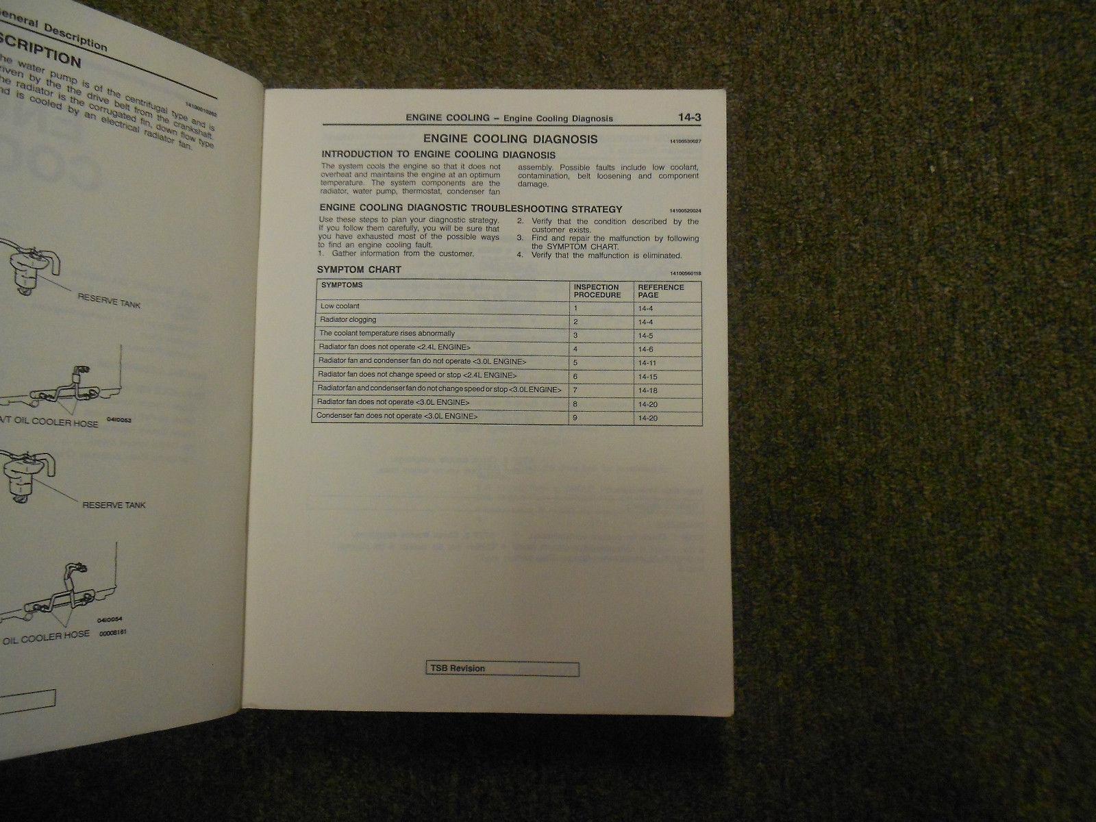 1999 2000 MITSUBISHI GALANT Service Shop Manual SET OEM DEALERSHIP BOOKS 1st EDI image 7