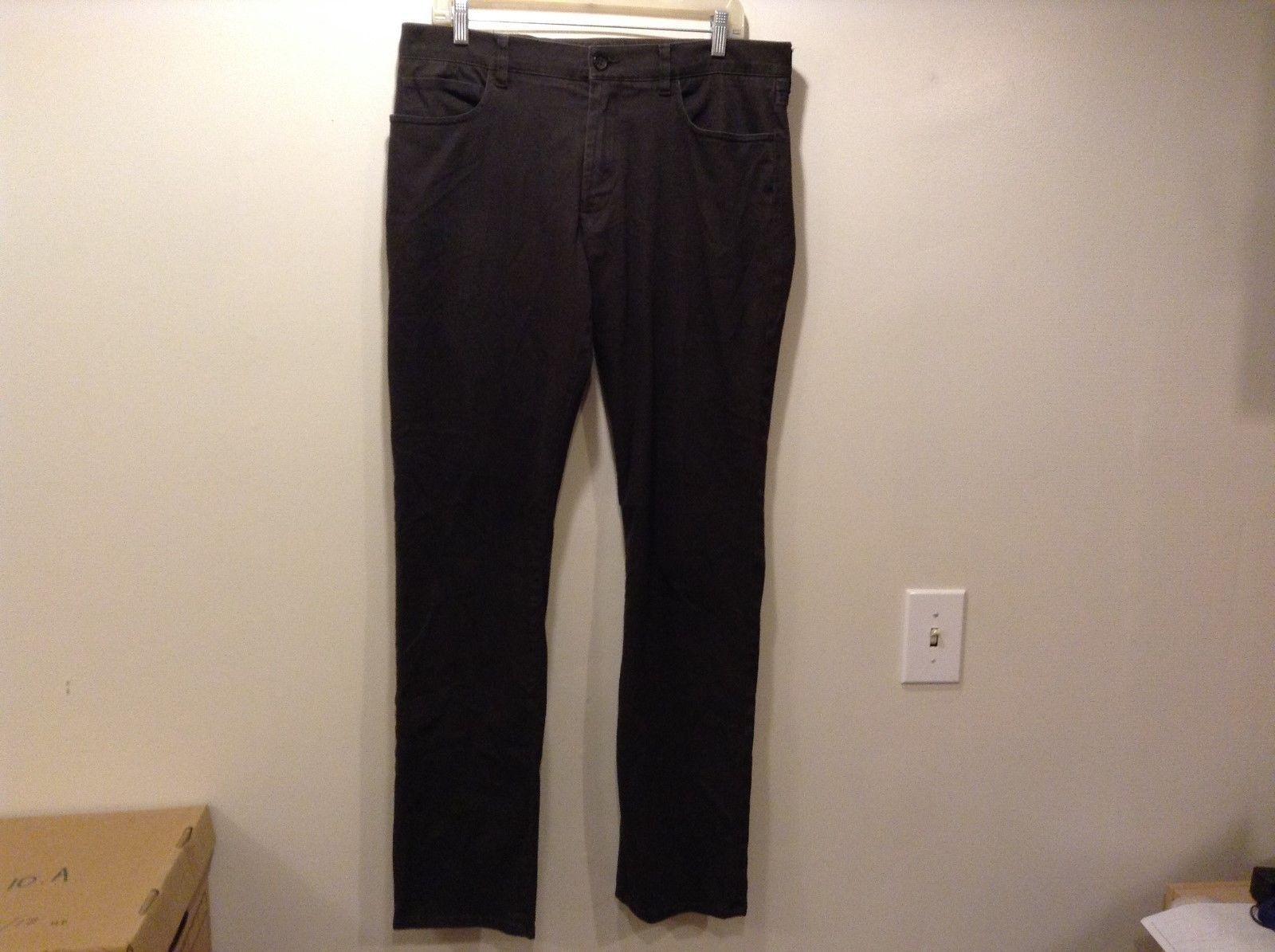 VINCE Black Stretchy Med Weight Skinny Jeans/Pants Sz 34