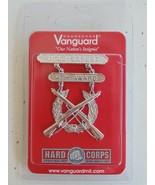 USMC US MARINE CORPS ALL RANKS RIFLE EXPERT SILVER BREAST BADGE 4TH AWAR... - $22.76