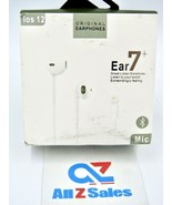 Wired Earbuds Ear7+, IOS 12, Lightning Plug, With Mic & Carry Case - NEW - $14.80