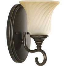 Progress Lighting P2783-77 1-Light Bath Features Scrolled Metalwork with... - $59.99