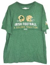 The Shirt 26 Years  2015 Notre Dame Irish Football Golden Tradition Legion XL image 1
