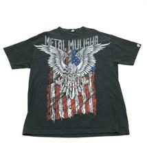 VINTAGE Metal Mulisha Shirt Size XL Extra Large Black Double Sided Motoc... - $27.33