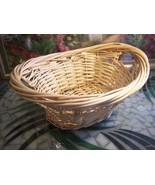 Wicker Gift Hamper Basket - $5.99