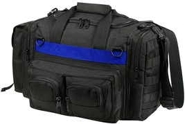 Thin Blue Line Black Tactical Concealed Carry Bag CCW Police Emergency D... - $37.99