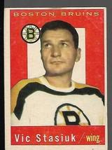 1959-60 Topps #14 Vic Stasiuk - $9.88