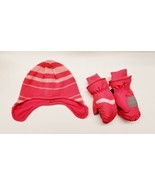 Kids Winter Hat & Ski Mittens Hot Paws Brand Cold Weather Gloves Accesso... - $24.19