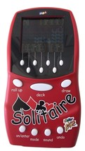 Mga Color FX2 Solitaire Red Electronic Lcd Handheld Game - Tested And Works! - $49.99