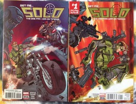 SOLO #1-2 (as seen in Deadpool) - Marvel Comics book - NM - $4.69
