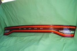 2013-15 Dodge Dart Trunk Lid Center Tail Light Taillight Lamp Panel NON-LED image 1