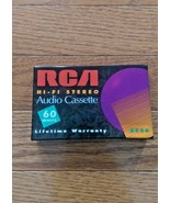 RCA Hi-Fi Stereo Audio Cassette 60 mins - New and Sealed - $4.25