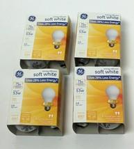 4 Packs Ge Lighting Soft White 2 Modified Spectrum General Purpose Halogen Bulbs - $11.87