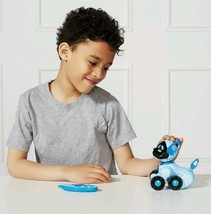 WowWee Chippies Robot Toy Dog Chipper Blue Reacts Sing S Ing Barks Sniff... - $63.58