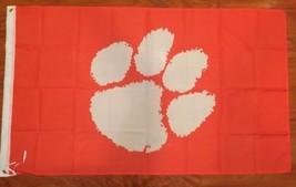 NCAA Clemson University Tigers 3 X 5 Feet New - $15.15