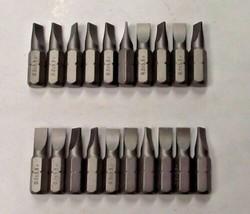 "Bosch 2608521B69 0.8 x 5.5 Extra Hard Slotted x 1"" Screw Bit Tips 20pcs. - $2.97"