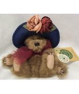 "Boyds YVETTE DUBEARY TEDDY BEAR W/ FANCY HAT 7"" Plush STUFFED ANIMAL Toy... - $16.34"