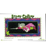 """Super Quilter Applique Quilt Wall Hanging Amy Bradley Pattern 41"""" x 21"""" - $12.99"""