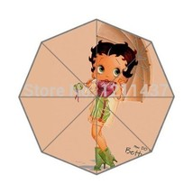Custom Perfect Gift Of Umbrella Good Quality Betty boop Fashion 43.5 inc... - $28.83